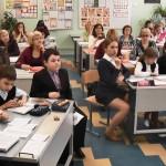 открытый урок в школе 375